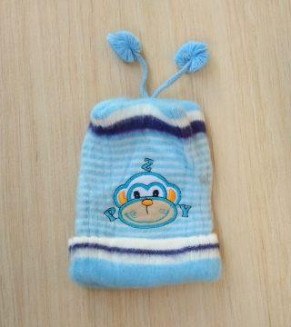 Topi Rajut Bayi Aksesoris Laki Perempuan Perlengkapan Baby Newborn Lucu  Baru Lahir Murah Anak e7edd472ec